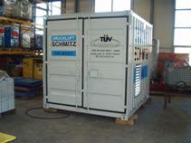 TüV Zertifikat  am Container